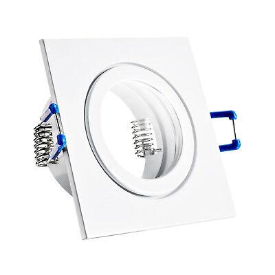 LED Bad Einbaustrahler Set IP44 GU10 230V 1W 3W 5W 7W dimmbar Feuchtraum MAR44 10