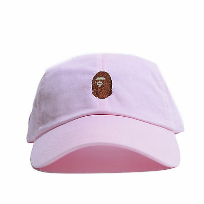 e807267009d ... Embroidered Dad Hat (BATHING APE HEAD supreme AAPE unsturctured ALL  COLOR 4
