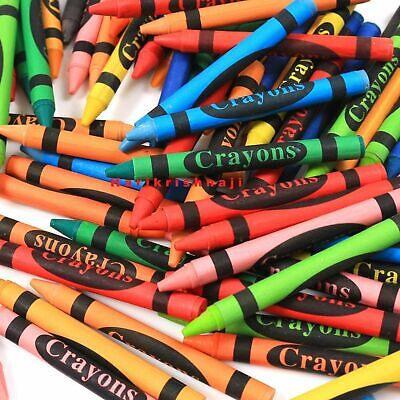 Colouring Pencils Markers Felt Tips Wax Crayons School Stationery Tip Art Assort 6