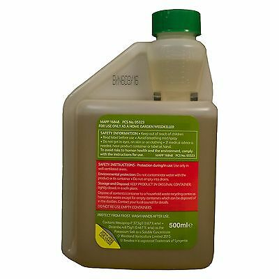 Resolva Weed Killer Herbicide Kills Weeds not Lawn/Grass Treats 250sq.m 2