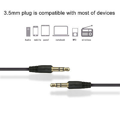 3.5mm AUX Cable Stereo Audio Extension Male to Male Auxiliary 1.5M 3M 5M 9M Long