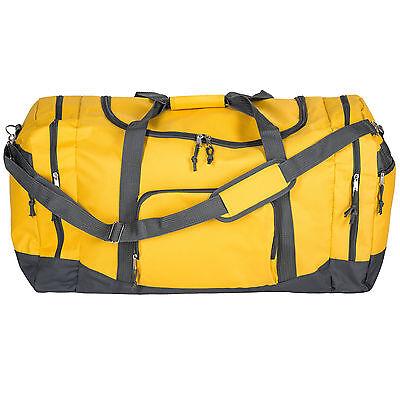 Sac de sport fitness football randonnée voyage transport 90L 70x35x35cm jaune 4