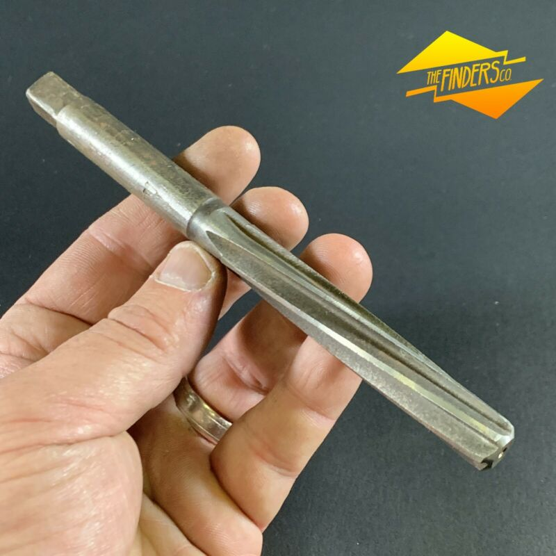 DORMER B1-01 12.00mm HSS MACHINE REAMER GOOD USED CONDITION #19 3