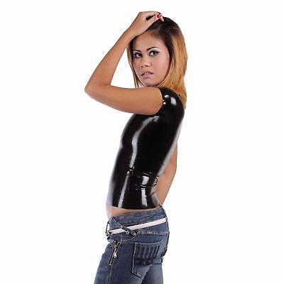 Latex Shirt aus Gummi in schwarz, Einheitsgröße 2