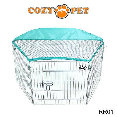 Cozy Pet Rabbit Run Play Pen Guinea Pig Dog Playpen Chicken Puppy Cage Hutch 2