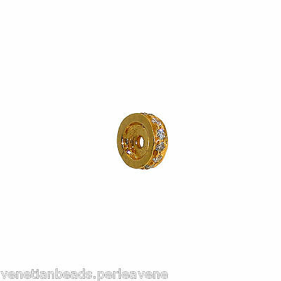 Vintage Indian Element for Jewelry - Gold and Diamonds    -   (1019)
