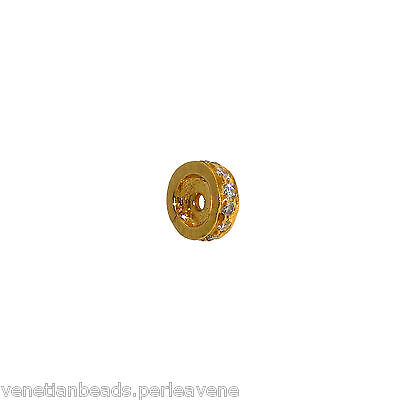Vintage Indian Element for Jewelry - Gold and Diamonds    -   (1019) 3