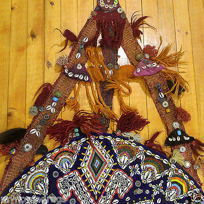 Beautiful Antique 1900-1930s Tribal Decorative,Ceremonial Wall Hanging Turkey 5