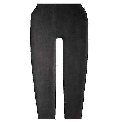 Latex Leggings Hose aus Gummi in schwarz, Einheitsgröße 4