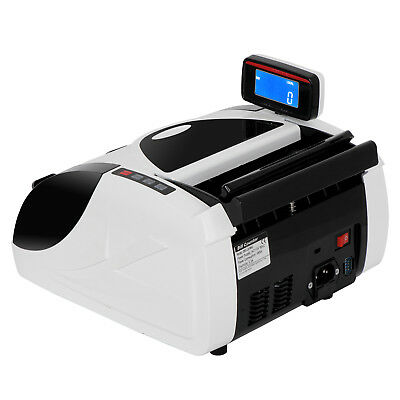 Money Counter Bill Cash Currency Counting Machine UV MG Counterfeit Detector USD 7