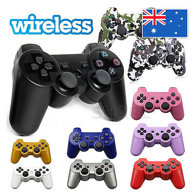 2X Premium Dual Shock Wireless Bluetooth Game Controller For PS3 PlayStation3 AU 2