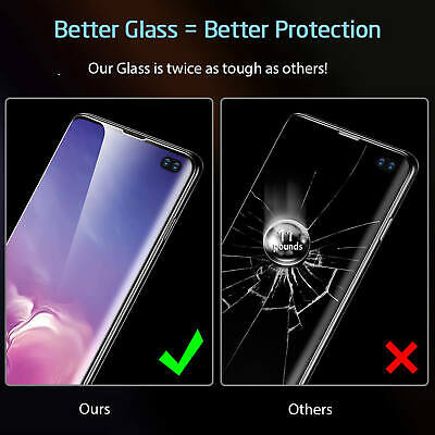 For Samsung Galaxy Curved 3D Tempered Glass Full Screen Protector S10 Plus S10e 5