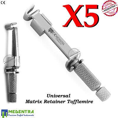 Tofflemire-Retainer Matrix Band Placement Universal-Retainer Restorations Set-5 2