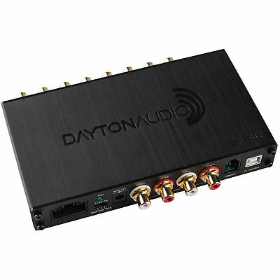 Dayton Audio DSP-408 4x8 DSP Digital Signal Processor for Home and Car Audio 6