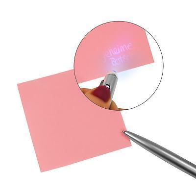 EAXUS® Geheimstift Geldscheinprüfer Zauberstift UV Tinte unsichtbar Schwarzlicht 3