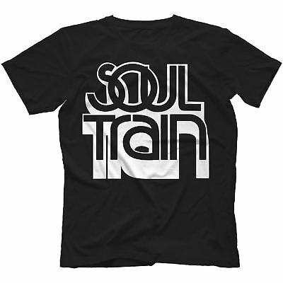 Soul Train T-Shirt 100% Cotton Motown Gladys Knight Marvin Gaye Tv Series 3