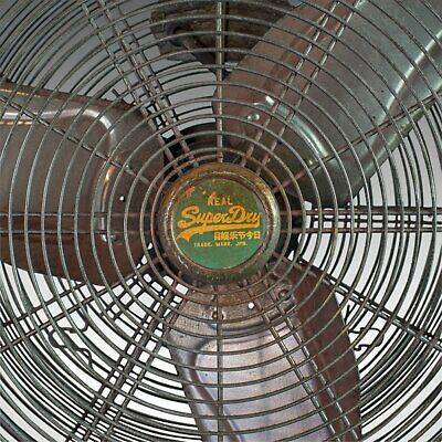 Large Floor Standing Fan, Powerful, Superdry Branded, Industrial Cooling 7