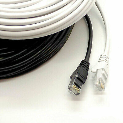 Ethernet Cable PC Gaming Xbox PS4 Network Patch Lead RJ45 Cat5e 0.5 to 50m LOT 7
