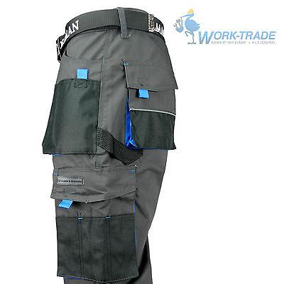 Arbeitshose Bundhose Arbeitskleidung Hose Herren Grau Schwarz Blau Gr. 46-62 2