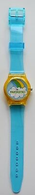 Vintage 80s stickers watch - 80s designer style watch 2