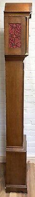 ~ Antique Brass Dial OAK Grandfather Longcase Clock GOLDSMITHS REGENT ST LONDON 12