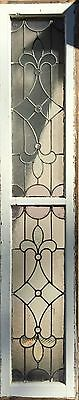 antique stained glass sidelight 2