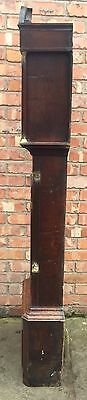 Beautiful Antique Oak And Mahogany Long Case GrandFather Clock 9 • £395.00