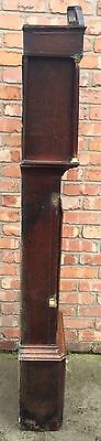 Beautiful Antique Oak And Mahogany Long Case GrandFather Clock 11
