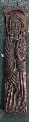 Original Antique Icon  wood St.Nikola 17-18 century maybe 15 century 4