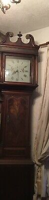 Grandfather Clock Original Very Tall Taller Than Door Working Order Collection 3
