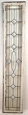 Tall Vintage Stained Glass Window Panel (1693)NJ 3