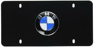 POLISHED STAINLESS STEEL 82120418628 BMW X3 LICENSE PLATE FRAME
