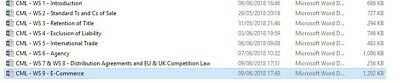 Commercial Law And Practice LPC Notes - Distinction - 79% In Exam Achieved 4