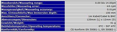 Ph-Sonde/elektrode Für Boden Bnc Ph-Meter Messgerät S02 5