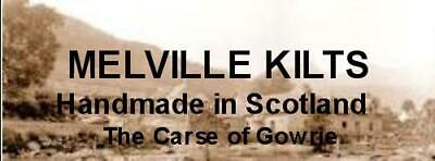 Fly Plaid Tartan Grey Granite Fringed Kilt Made In Scotland Highland Gents Wear 4