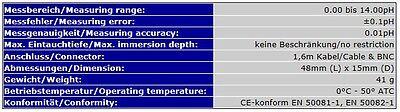 Wasserfest Wasserdicht **unterwasser** Profi Ph-Elektrode Bnc Ph-Meter Ph  S14 5
