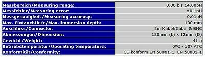 PH-ELEKTRODE/SONDE + REINIGUNGS-/WARTUNGSFLÜSSIGKEIT/pH KALIBRIERLÖSUNG S01_XXL 6
