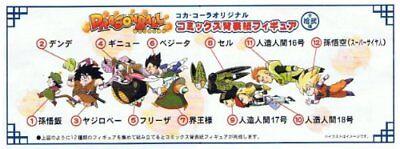 Dragon Ball×Coca Cola Original Comics Spine Figure Vol.2 Gohan Lawson Edition