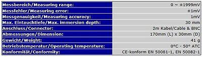 Redox Orp Elektrode Bnc Controller/messgeräte/meter S13 5