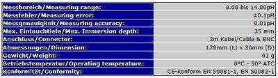 Ph *elektrode Universal Controller Ph Meter Regler 2Meter Kabel  S03 5