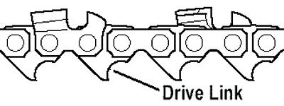 """45cm Black /& Decker CS2245 Chainsaw Chain 18/"""" - OREGON 91PX062E A6245CS"""