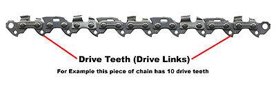 """Black /& Decker GK1935 GK1935T Chainsaw Chain 14/"""" - OREGON 91PX052E A6295 35cm"""