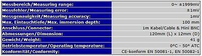 Redox Elektrode Mini-Bnc Messgeräte/meter Ph-13M Aquarium Teich Chlor    S05 5