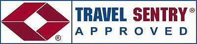 4 X 3 Digit TSA approved Combination Locks Travel Luggage Padlock Suitcase 4