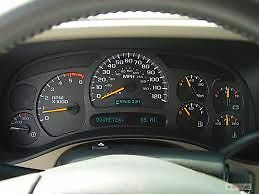 dash cluster for 2003 chevy tahoe