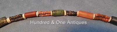 Antique Pre-Columbian Tairona Culture Semi Precious Stones Necklace 500-1500 A.D 4