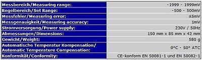 Redox/orp-Controller Regler Steuergerät Ozon Aquarium Teich Süss-/salzwasser P17 6