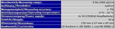 Ec-Meter/ec-Messgerät Messer Wasserqualität Osmose Tds     Ec3 5