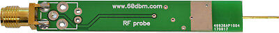 RF Active Probe 0.1-1500 MHz-1.5 GHz analyzer oscilloscope, RF cable included