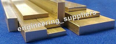 """100mm 150mm 9.53 x 3.2mm Brass 3//8/"""" x 1//8/"""" 300mm /& 600mm long Flat Bar 50mm"""